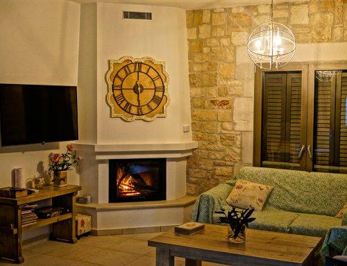 Villa Harry Fireplace
